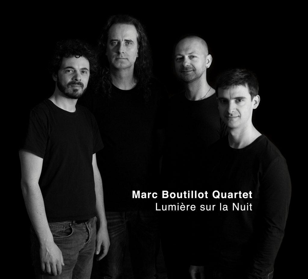 Disque Marc Boutillot Quartet Lumière sur la Nuit